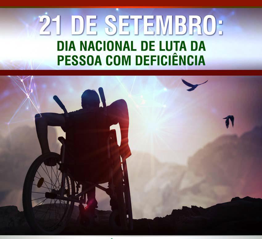dia nacional de luta da pessoa com deficiecia
