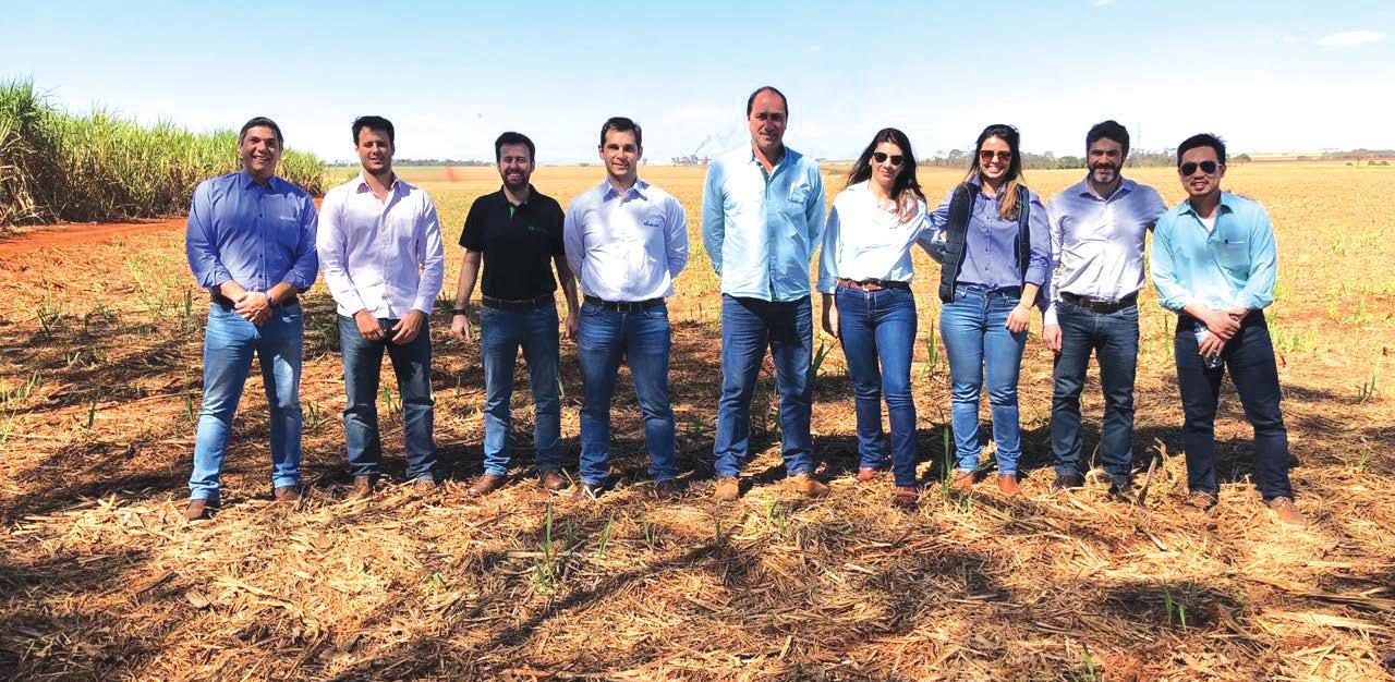 Viralcool recebe visita de representantes da ourofino